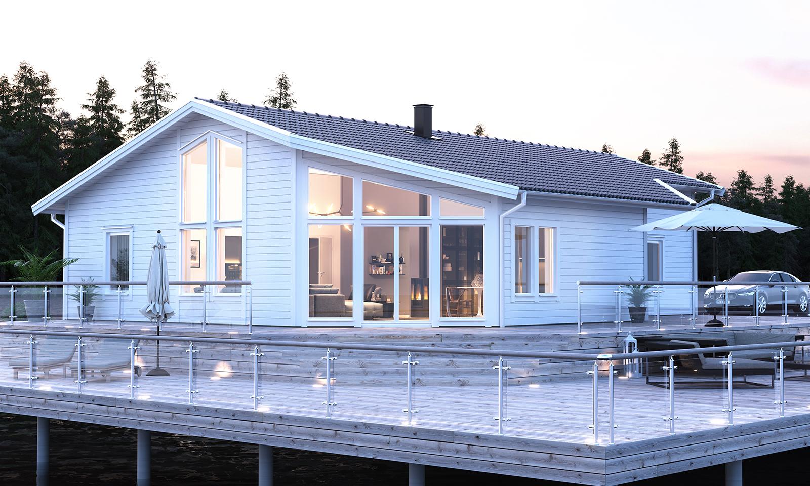 Köpa hus & villa online - pris direkt på A-hus Online